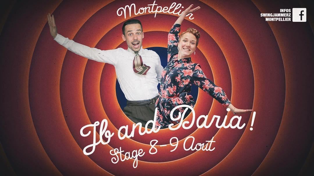 Stage JB & Daria - août 2017